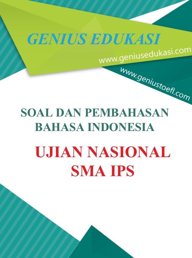 Contoh Soal Dan Pembahasan Un Bahasa Indonesia Sma Soal Dan Pembahasan Un Bahasa Indonesia Sma