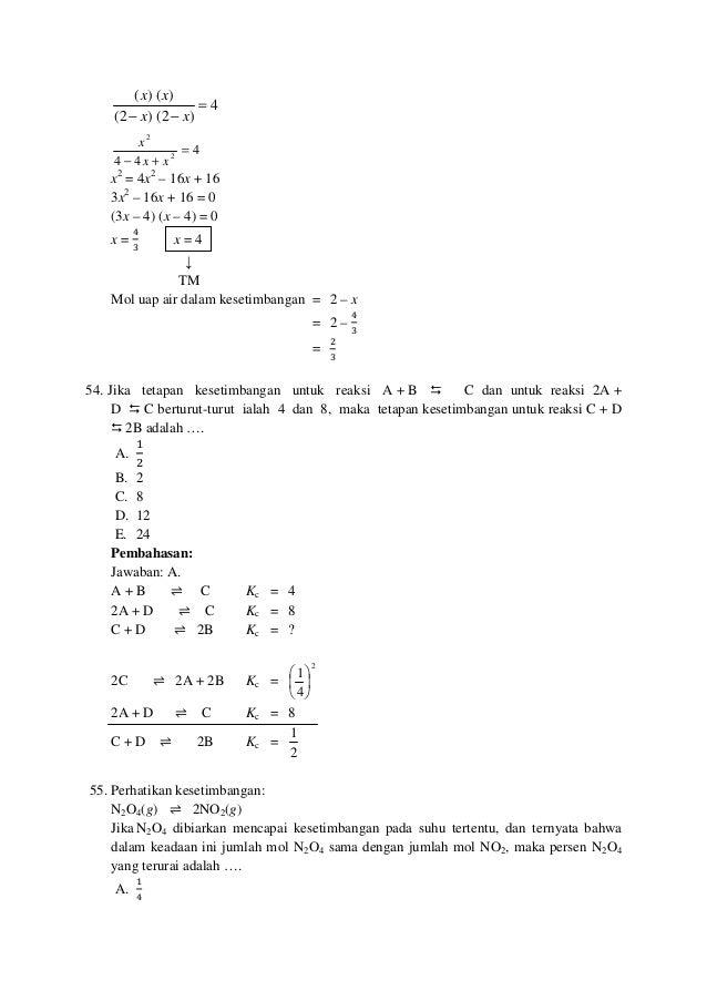 4 )2()2( )()( = −− xx xx 4 44 2 2 = +− xx x x2 = 4x2 – 16x + 16 3x2 – 16x + 16 = 0 (3x – 4) (x – 4) = 0 x = ସ ଷ x = 4 ↓ TM...