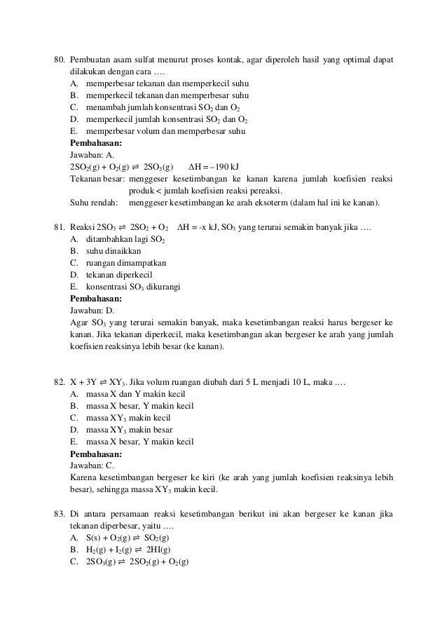 Mengenai Reaksi Endoterm Pernyataan Berikut Yang Benar ...