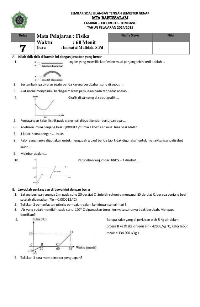 Contoh Soal Ukg Sd 2014 Bank Soal Dan Latihan Soal Contoh Soal Ujian Nasional Sd Kapasitor