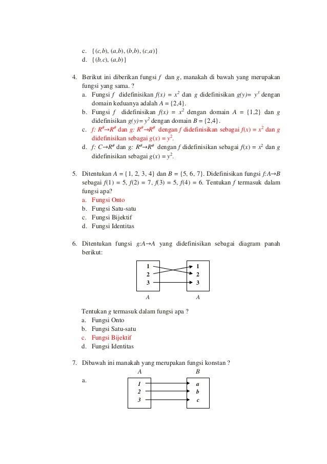 Soal pilihan ganda fungsi ccuart Image collections