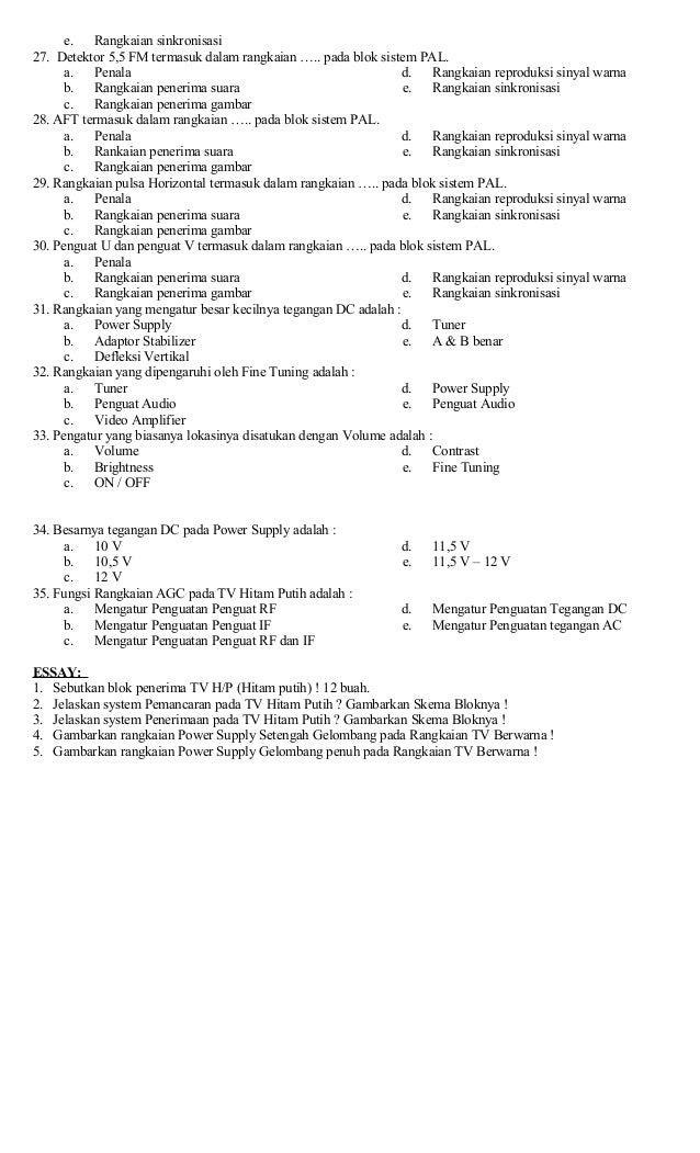 contoh soal essay c5 dan c6