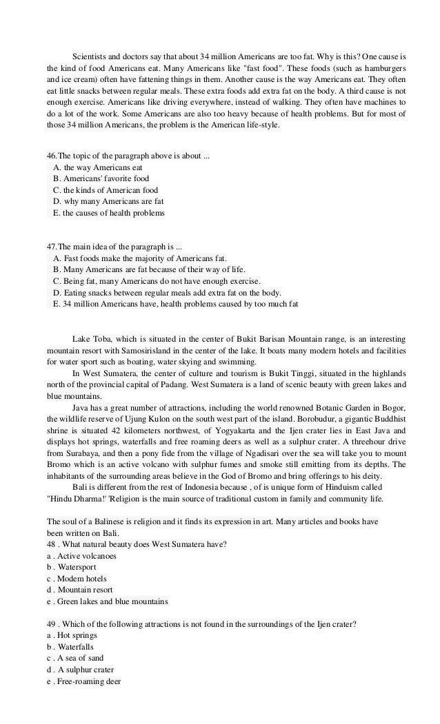 Soal Dan Jawaban Teks Reading Reading Text Bahasa Inggris