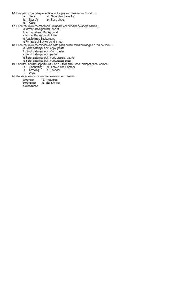 Soal  ulangan semester 2 Slide 2
