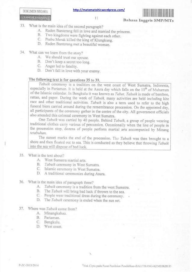 Download Paket Soal Un Smama 2014 Bahasa Inggris Program Kumpulan Kartu Soal Bahasa Inggris