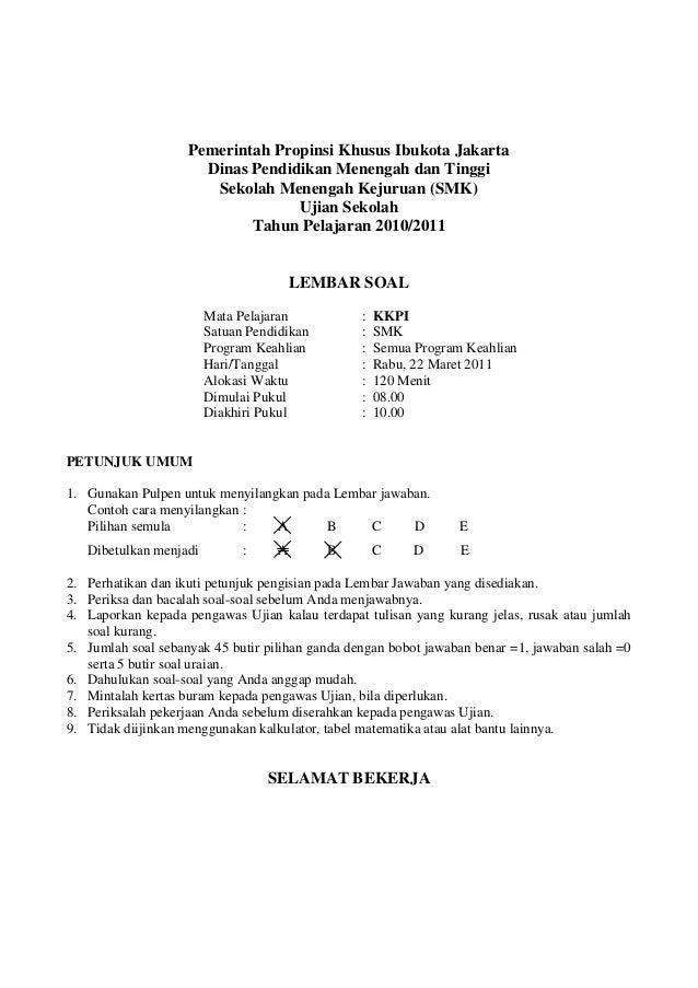 contoh soal essay ujian advokat peradi