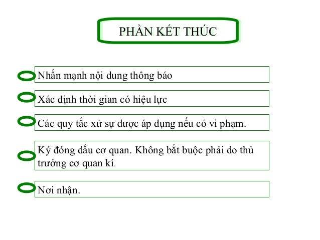 33 CÁC DẠNG THÔNG BÁOCÁC DẠNG THÔNG BÁO Thông báo truyền đạt một văn bản mới ban hành, một chủ trương, chính sách mới: Nội...