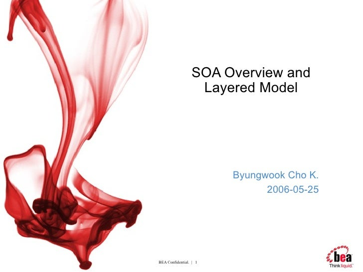 SOA Overview and Layered Model Byungwook Cho K. 2006-05-25