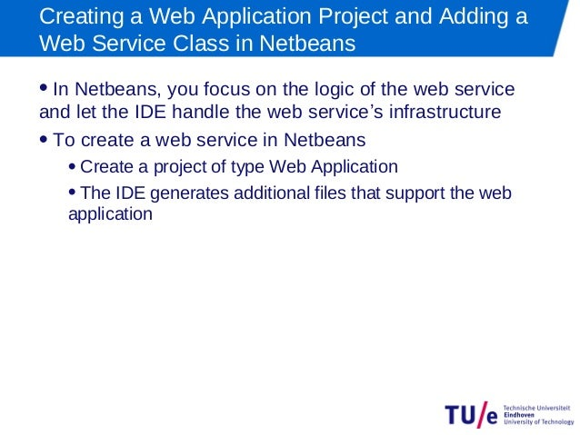 Web writing services netbeans