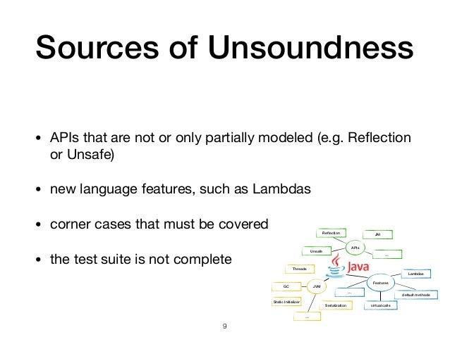 Reflection Unsafe JNI APIs … JVM Threads GC Serialization … Features Lambdas default methods … virtual calls Static Initial...