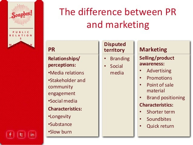 difference between branding and relationship marketing campaign