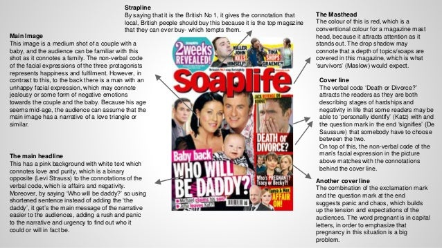 an analysis of soap opera genre Sean wayne – 1254 brief: the aims of the unit g324 coursework are it create evidence of planning and research into the soap opera genre,  textual analysis.