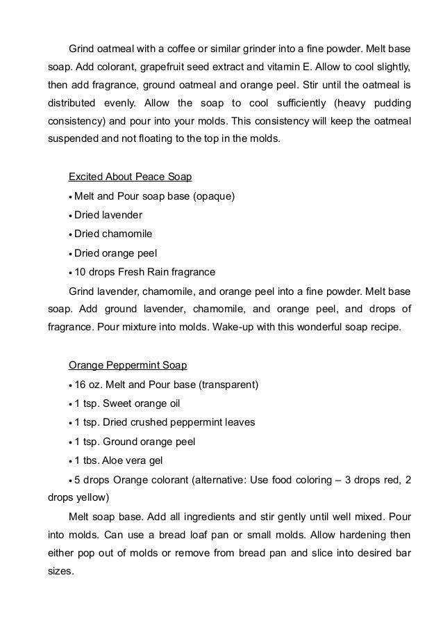 Soap Making: 71 Homemade Soap Recipes