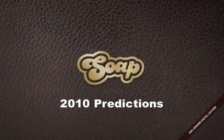 2010 Predictions<br />100% GENUINE DIGITAL LEATHER<br />