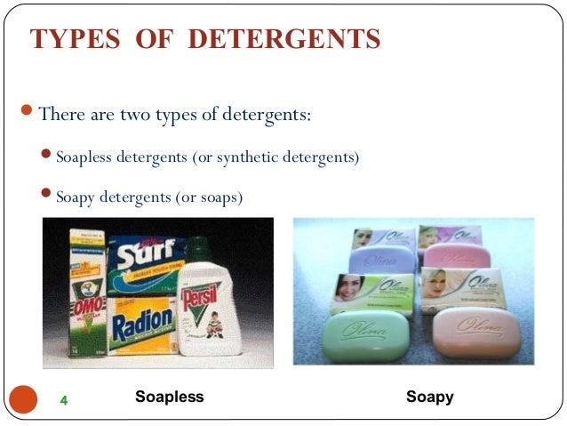 soapless detergent