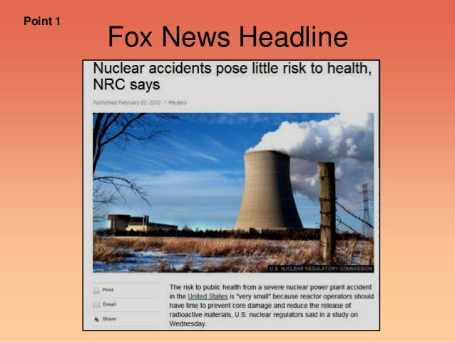 Fox News Headline Point 1