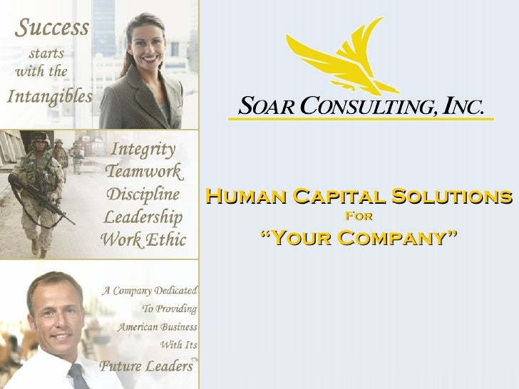 """Human Capital Solutions For """" Your Company"""""""