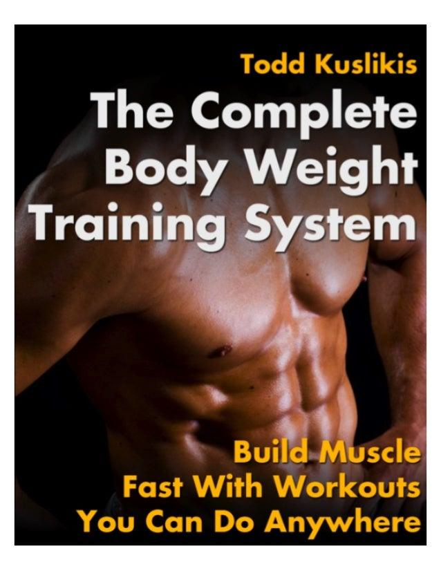 AShotofAdrenaline.net's Complete Body Weight Training System   1