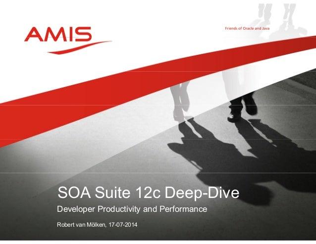 Developer Productivity and Performance Robert van Mölken, 17-07-2014 SOA Suite 12c Deep-Dive