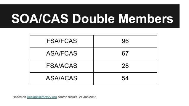 SOA vs CAS and AAA Timeline
