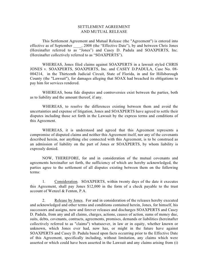 Soaxperts Settlement For Lawsuit