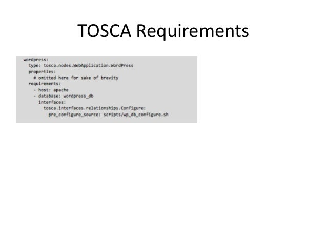 Template languages for openstack heat and tosca hot component resource 18 malvernweather Images