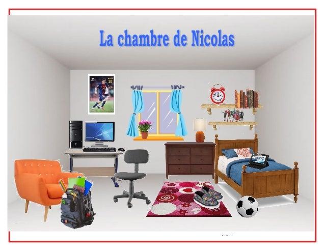 la chambre de Nicolas aménagée