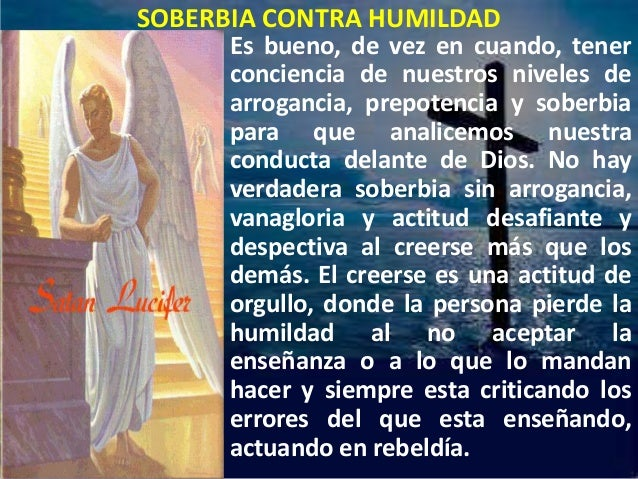 Soberbia contra humildad[1]