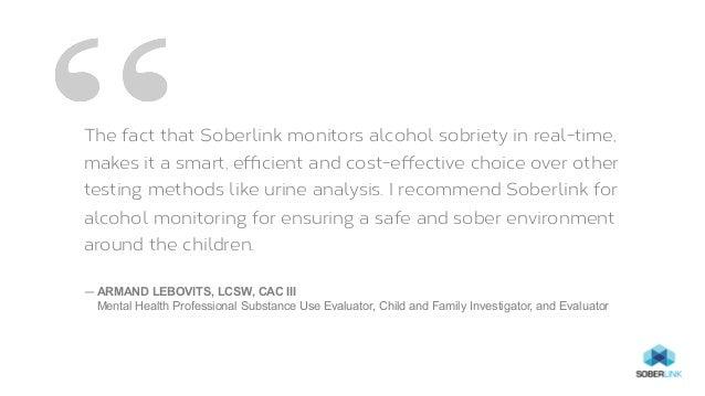 Discreet, Convenient Alcohol Monitoring