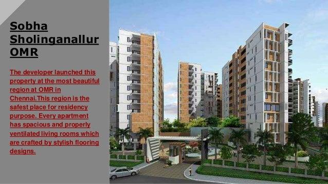 Sobha sholinganallur omr offers Luxury Apartments in Chennai