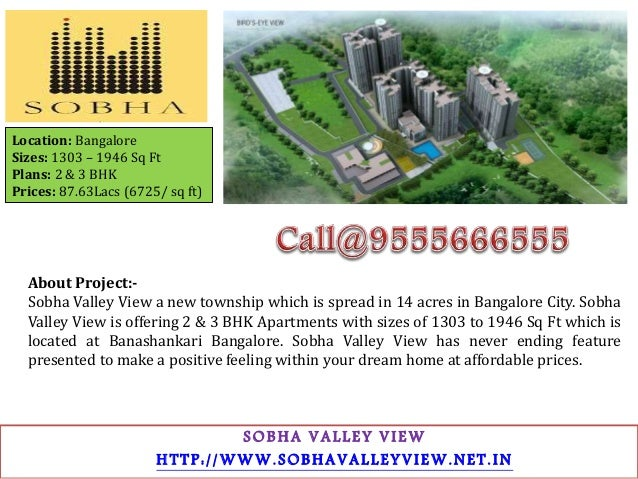 About Developer:- Mr. P.N.C. Menon founded Sobha Developers in 1995 with a clear vision to change the way people perceive ...