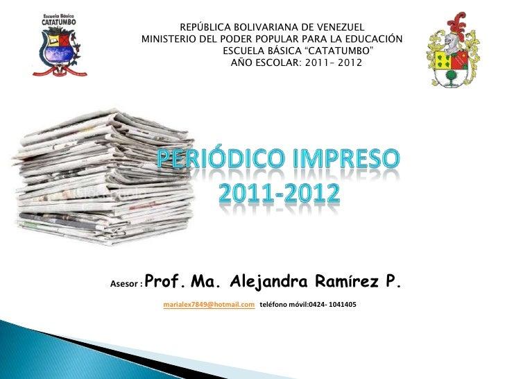 REPÚBLICA BOLIVARIANA DE VENEZUEL       MINISTERIO DEL PODER POPULAR PARA LA EDUCACIÓN                       ESCUELA BÁSIC...