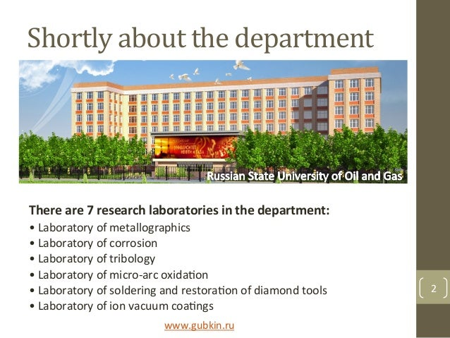 Shortly$about$the$department$ There%are%7%research%laboratories%in%the%department:% •&Laboratory&of&metallographics& •&Lab...