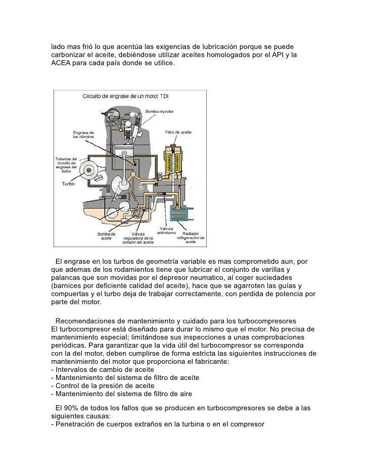 Ventajas de sobrealimentar un motor