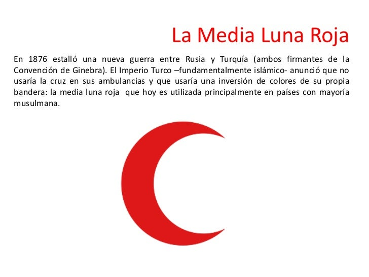 Sobre la cruz roja y la media luna for En que luna nos encontramos hoy