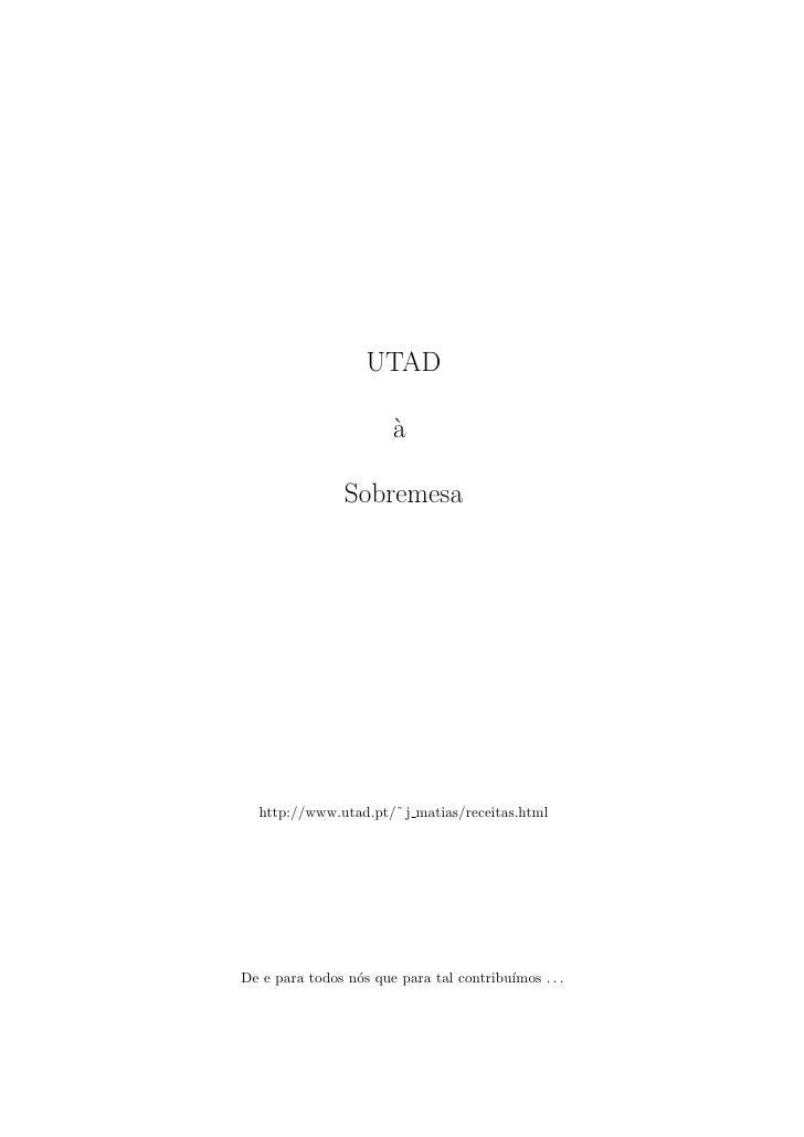 UTAD                        `                        a                Sobremesa  http://www.utad.pt/˜ j matias/receitas.ht...