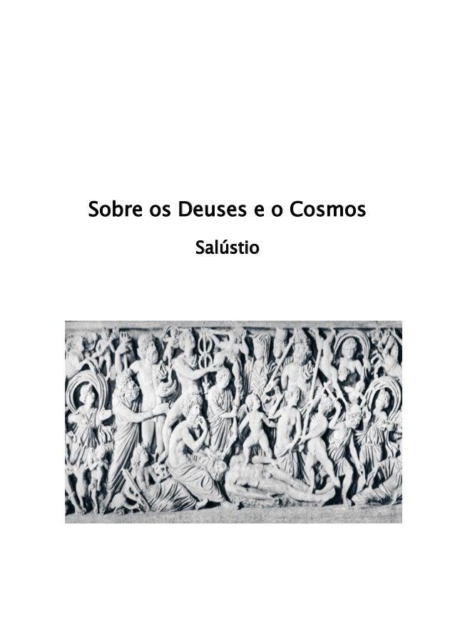 Sobre os Deuses e o Cosmos Salústio