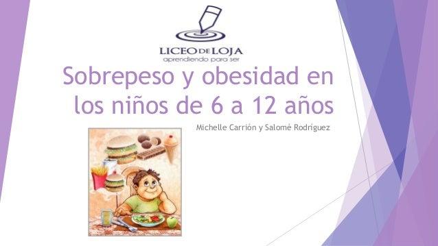 Sobrepeso y obesidad en ni os de 6 a 12 a os for Sillas para ninos de 3 a 6 anos