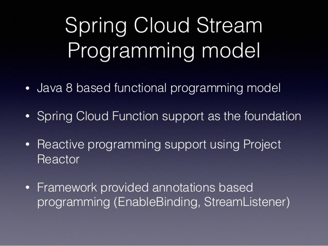 Streaming with Spring Cloud Stream and Apache Kafka - Soby