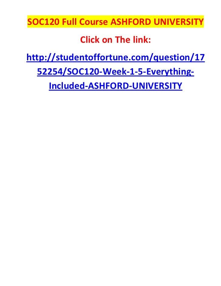 Soc 120 ashford university quiz
