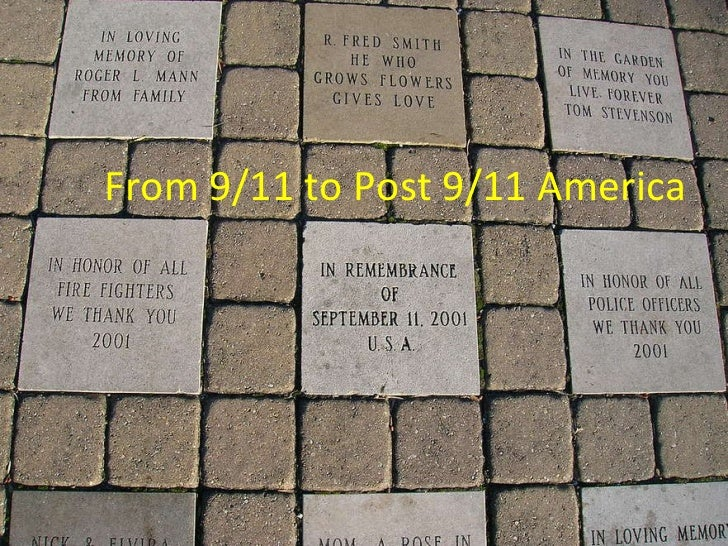 From 9/11 to Post 9/11 America