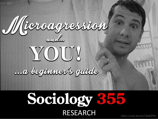 Sociology 355 Research cc: Onasill ~ Bill Badzo - https://www.flickr.com/photos/7156765@N05