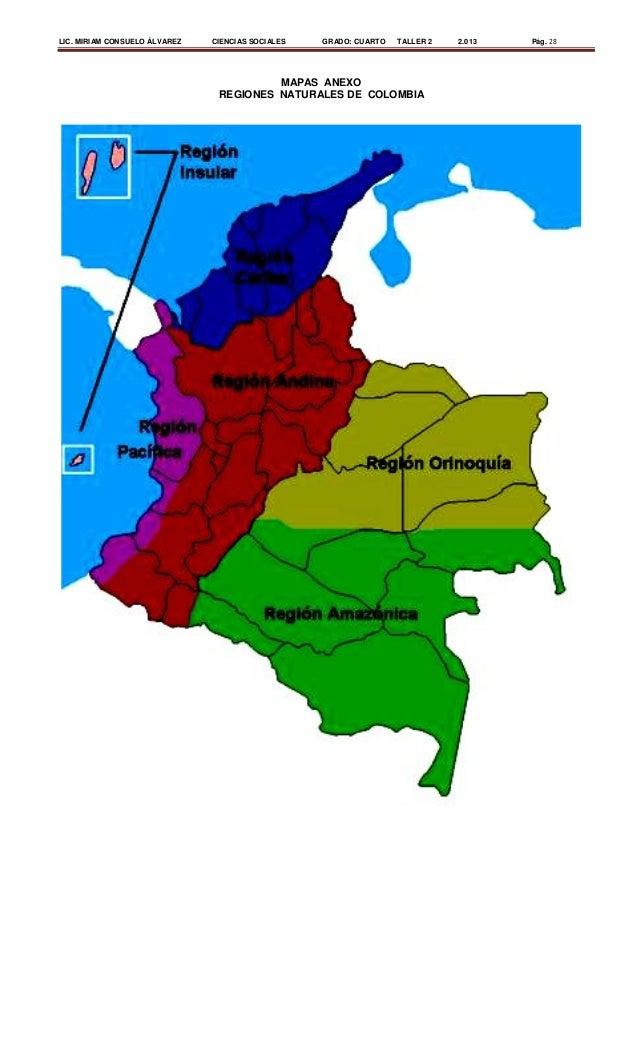 Regiones naturales de Colombia 3