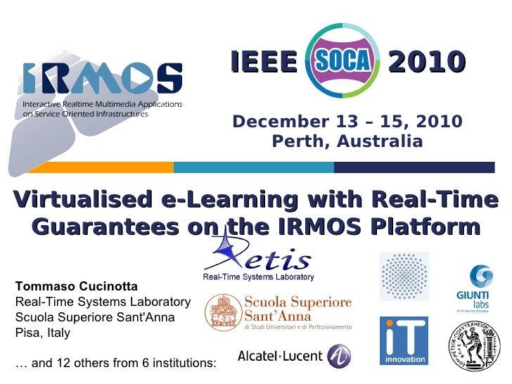 IEEE          2010                                       December 13 – 15, 2010                                          P...