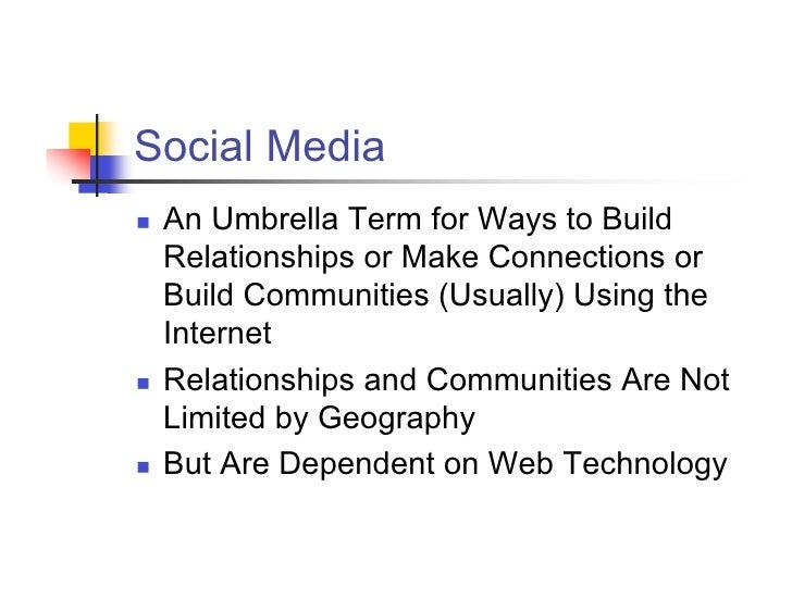 Social Media 101 Slide 2