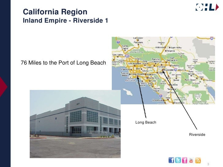 OHL's Available Distribution Space in Southern Ca Slide 3
