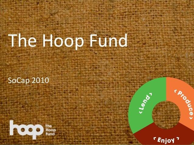 The Hoop Fund SoCap 2010