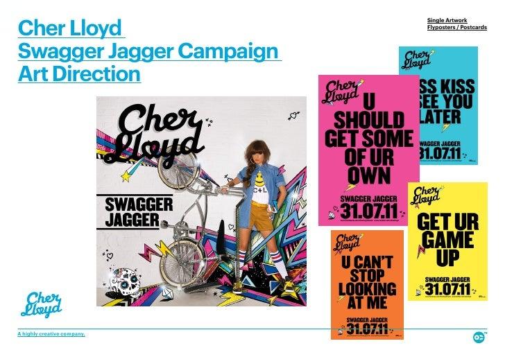Cher Lloyd                             Single Artwork                             Flyposters / PostcardsSwagger Jagger Cam...
