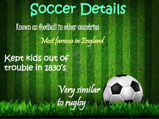 History of Soccer Slide 2