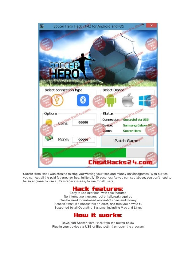 soccer hero hack ios no jailbreak